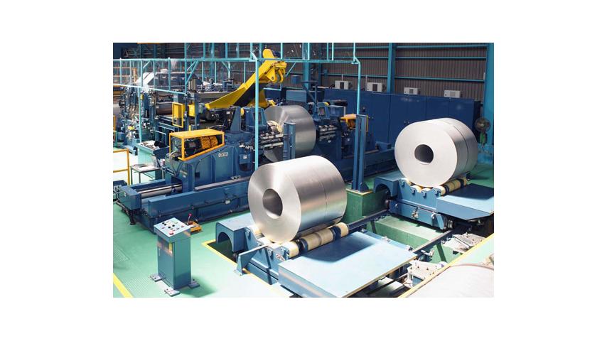 大型卷材加工生产线