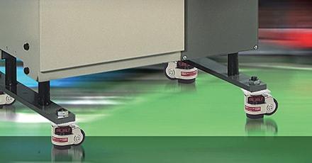 可移动的防震机器